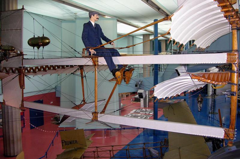 1910 - Fabre Hydravion, Musee de l'Air et de l'Espace, Le Bourget, Paris, 10 May 2005 3