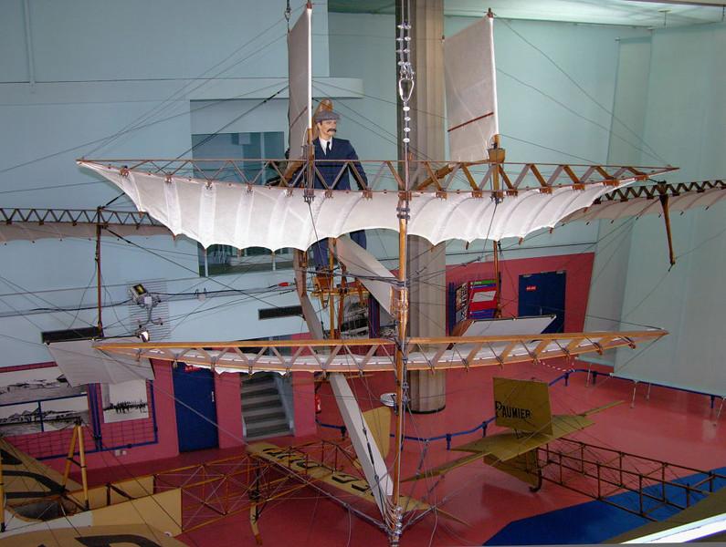 1910 - Fabre Hydravion, Musee de l'Air et de l'Espace, Le Bourget, Paris, 10 May 2005 4