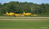 Harvards rolling at Tillsonburg Regional Airport Open House