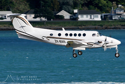 Tasman Aviation King Air ZK-MAN