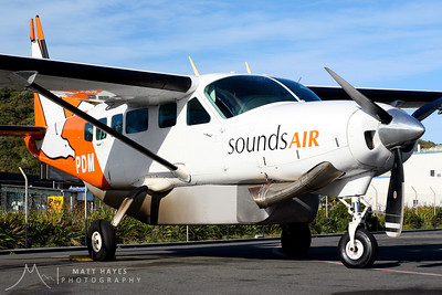 Sounds Air's Cessna 208 Caravan ZK-PDM