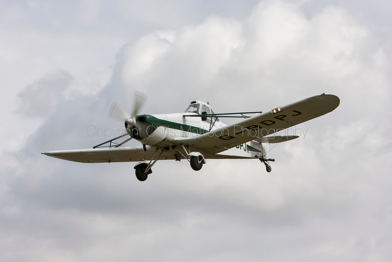 Piper PA-25 Pawnee, reg G-BDPJ