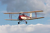 Thruxton Jackaroo (modified DH82 Tiger Moth) reg G-ANZT, at Little Gransden