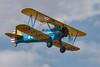 Boeing N2S-5 Kaydet reg G-AZLE