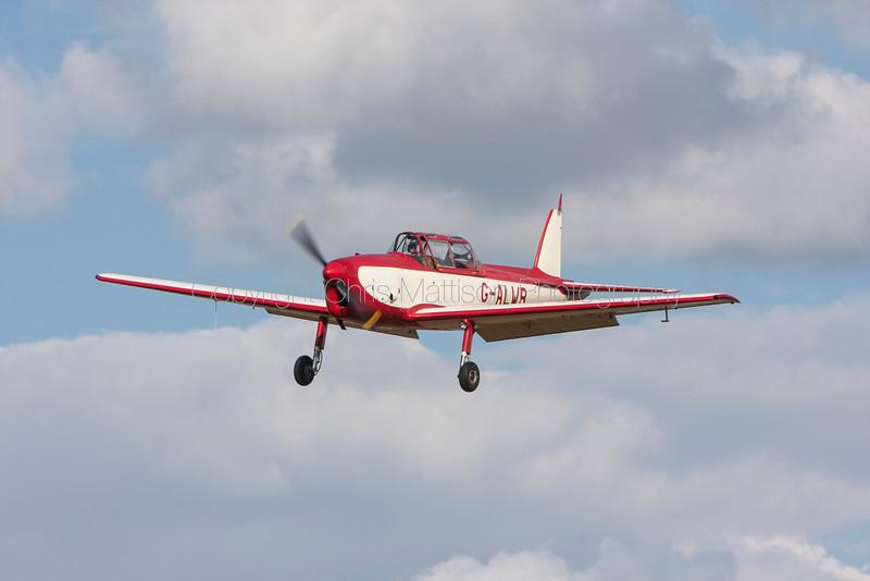 De Havilland DHC-1 Chipmunk 22, reg G-ALWR, at Little Gransden