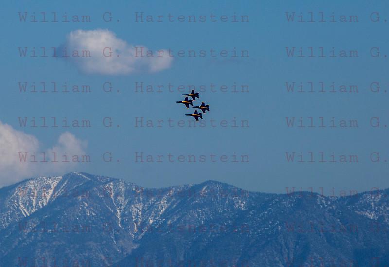 Blue Angel's Fox Field, Lancaster, CA. 03-18-2016
