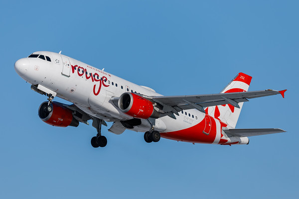 Air Canada Rouge A319-100 (C-FYIY)-4