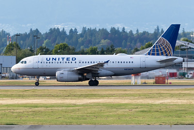 United Airlines A319-100 (N834UA)