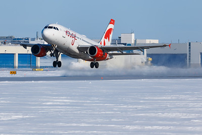 Air Canada Rouge A319-100 (C-FYIY)-2