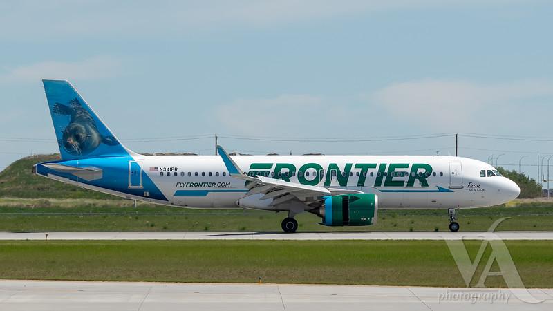 Frontier A320-200N (N341FR)