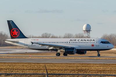 Air Canada A320-200 (C-FZQS)