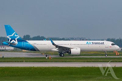 Air Transat A321-200NX (C-GOIJ)