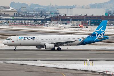 Air Transat A321-200 (C-GEZY)