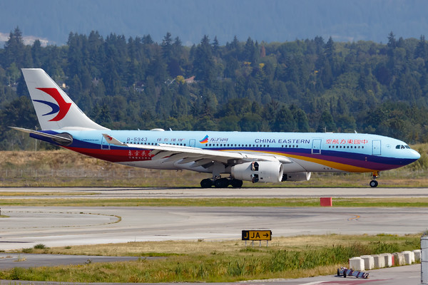 China Eastern Airlines A330-200 (B-5943)