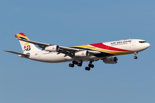 Air Belgium A340-300 (OO-ABD)
