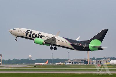 Flair Airlines B737 MAX8 (C-FLHI)-3