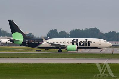 Flair Airlines B737 MAX8 (C-FLHI)