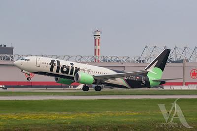 Flair Airlines B737 MAX8 (C-FLHI)-2