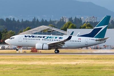 WestJet B737-700 (C-GWBJ)