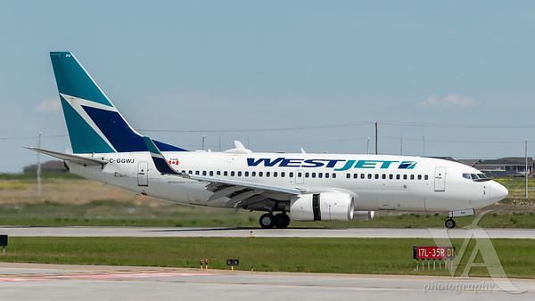WestJet B737-700 (C-GGWJ)
