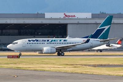WestJet B737-700 (C-GWBX)