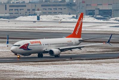 Sunwing Airlines B737-800 (C-GPVS)