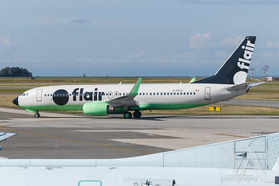 Flair Airlines B737-800 (C-FFLA)