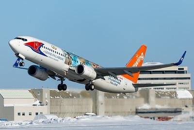Sunwing Airlines B737-800 (C-FEVD)-2