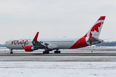Air Canada Rouge B767-300ER (C-FIYE)-2