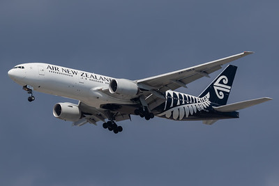 Air New Zealand B777-200 (ZK-OKA)
