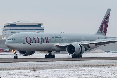 Qatar Airways B777-300ER (A7-BEU)