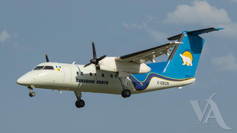 Canadian North Dash 8-100 (C-GECN)