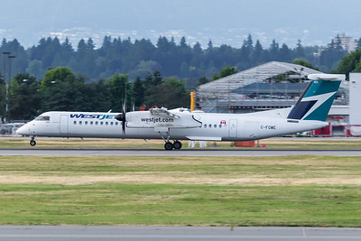 WestJet Encore Dash 8-400 (C-FOWE)