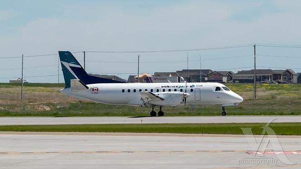 WestJet Link Saab 340 (C-GPCF)