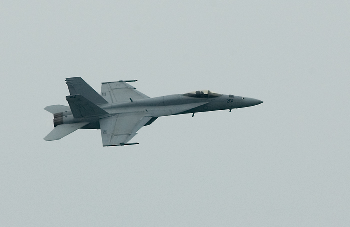 VFA-27 Royal Maces' F/A-18E from the U.S. Navy's Pacific Fleet (USS Kitty Hawk)(2008)