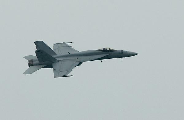 VFA-27 Royal Maces' F/A-18E from the U.S. Navy's Pacific Fleet (USS Kitty Hawk)(2008)