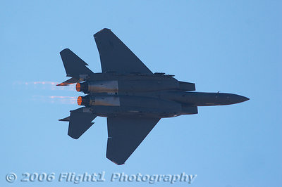 A little afterburner action