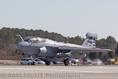 EA-6B Prowler on Takeoff Roll