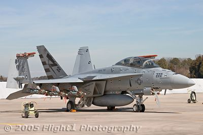 F/A-18F Super Hornet from the Test Squadron