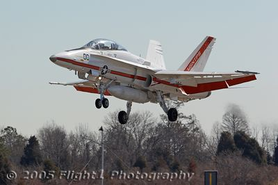 F/A-18D Hornet from the US Navy Test Pilot School