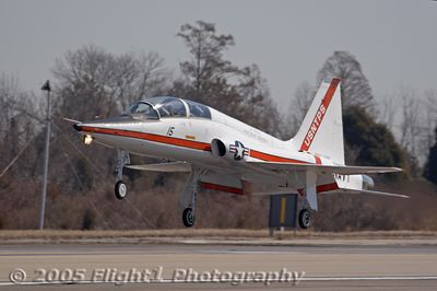 T-38 Talon from the Test Pilot School