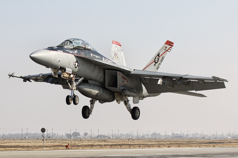 F/A-18F Super Hornet NG-100 '166842' VFA-41 'Black Aces'