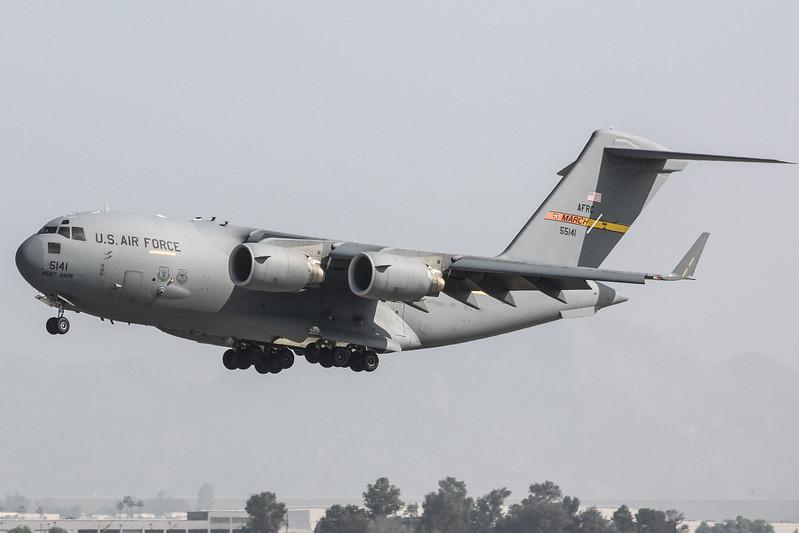 C-17 Globemaster III '95-5141'