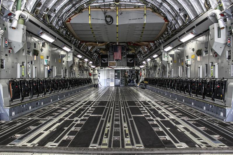 C-17 Interior '05-5140'