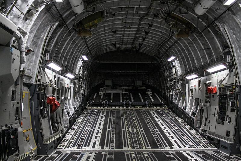 Rear C-17 Interior '05-5140'