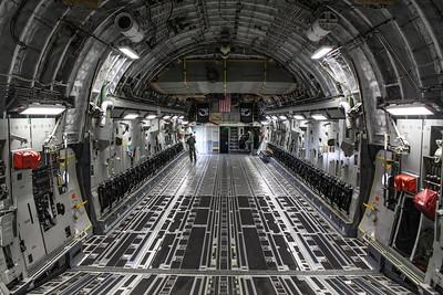 Forward C-17 Interior '05-5140'