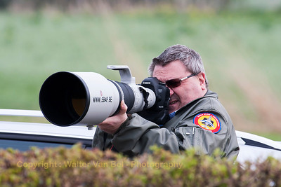 My friend - Serge (from SBAP) - in action at Leeuwarden Air Base (EHLW), during the arrivals of FF2014.
