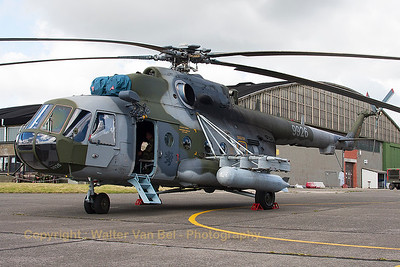 Czech Republic Air Force Mi-171Sh (9926; cn59489619926), seen here parked at the apron prior to another mission during the THPU-exercise (Tactical Helicopter Procedures Update) at Beauvechain Air Base.