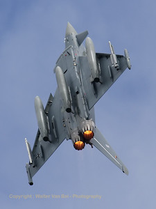 Amazing take-off by a German Air Force EF-2000 Eurofighter from JBG31, at the start of a Frisian Flag mission.