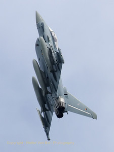 Another amazing take-off by a German Air Force EF-2000 Eurofighter from JBG31, at the start of a Frisian Flag mission.